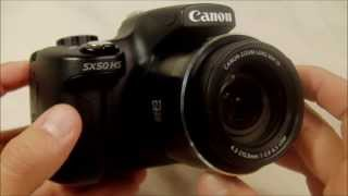 Canon PowerShot SX50 HS Review.