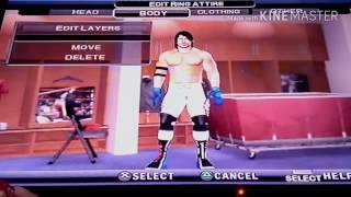 wwe svr2011 how to create AJ Styles (WM 33) caw