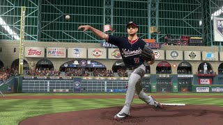 2019 World Series - Washington Nationals vs Houston Astros - Game 1 (MLB 10/22/2019) MLB The Show 19