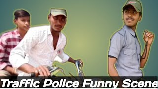 Traffic police funny scene //comedy life best comedy// comedy video kannada version