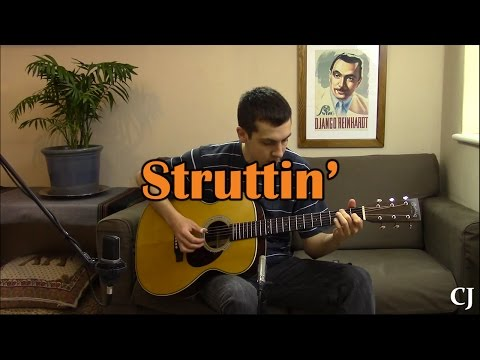 Struttin' (Jerry Reed) - Solo Travis Picking Guitar - Camilo James