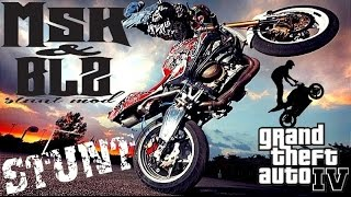 STUNT BIKES MSK & BLZ Stunt Mod for GTA IV