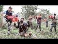 LTT Game Nerf War : Winter Warriors SEAL X Nerf Guns Fight Criminal Group Of Rocket Man