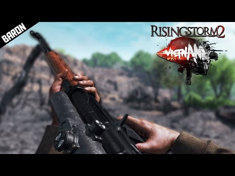 Rising Storm 2 Vietnam SNIPING & Helicopter Gameplay (RS2 Hill 937 Gameplay)