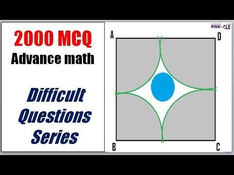2000 MCQ Advance math difficult questions series I math tricks I ssc cgl