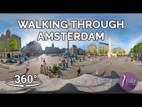 Amsterdam 360 - Walking through Amsterdam - John Bake Post Productions