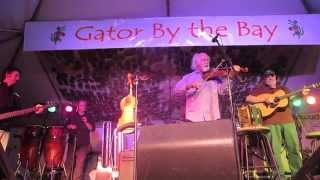 BeauSoleil Avec  Michael Doucet at Gator By the Bay 2015 in San Diego