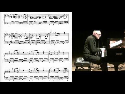 K. Jarrett - The Köln Concert Part IIa (score-video)