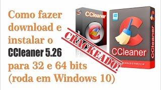 [NOVO 2017] Download e instalação CCleaner Pro 5.26 Full Crack 32-64 bits