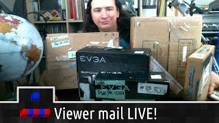 Opening Viewer Mail LIVE!