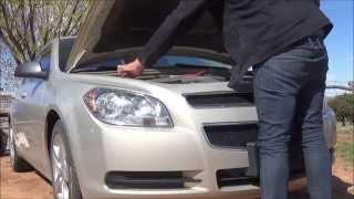 2008-2012 Chevrolet Malibu headlight bulb replacement pt2