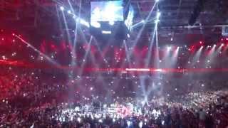 Klitschko vs. Pianeta: Wladimir's entrance (Can't Stop, Red Hot Chilli Peppers)