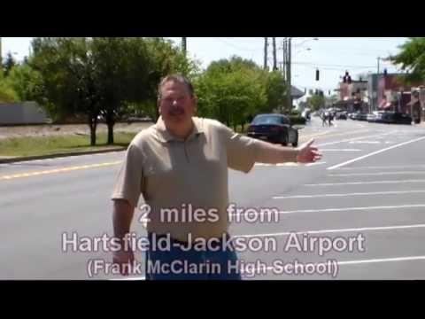 2 miles from Hartsfield-Jackson airport, Frank McClarin High School (snip it)