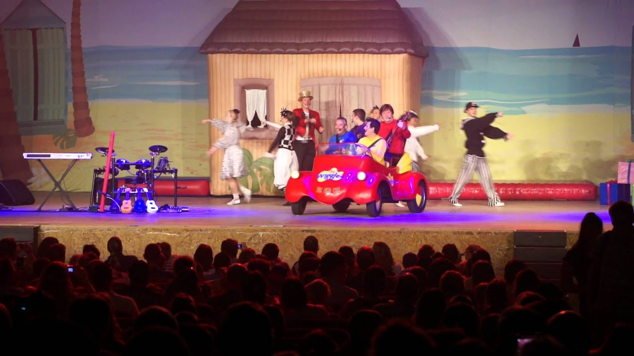 Hershey Car Show >> Wiggles Concert - YouTube