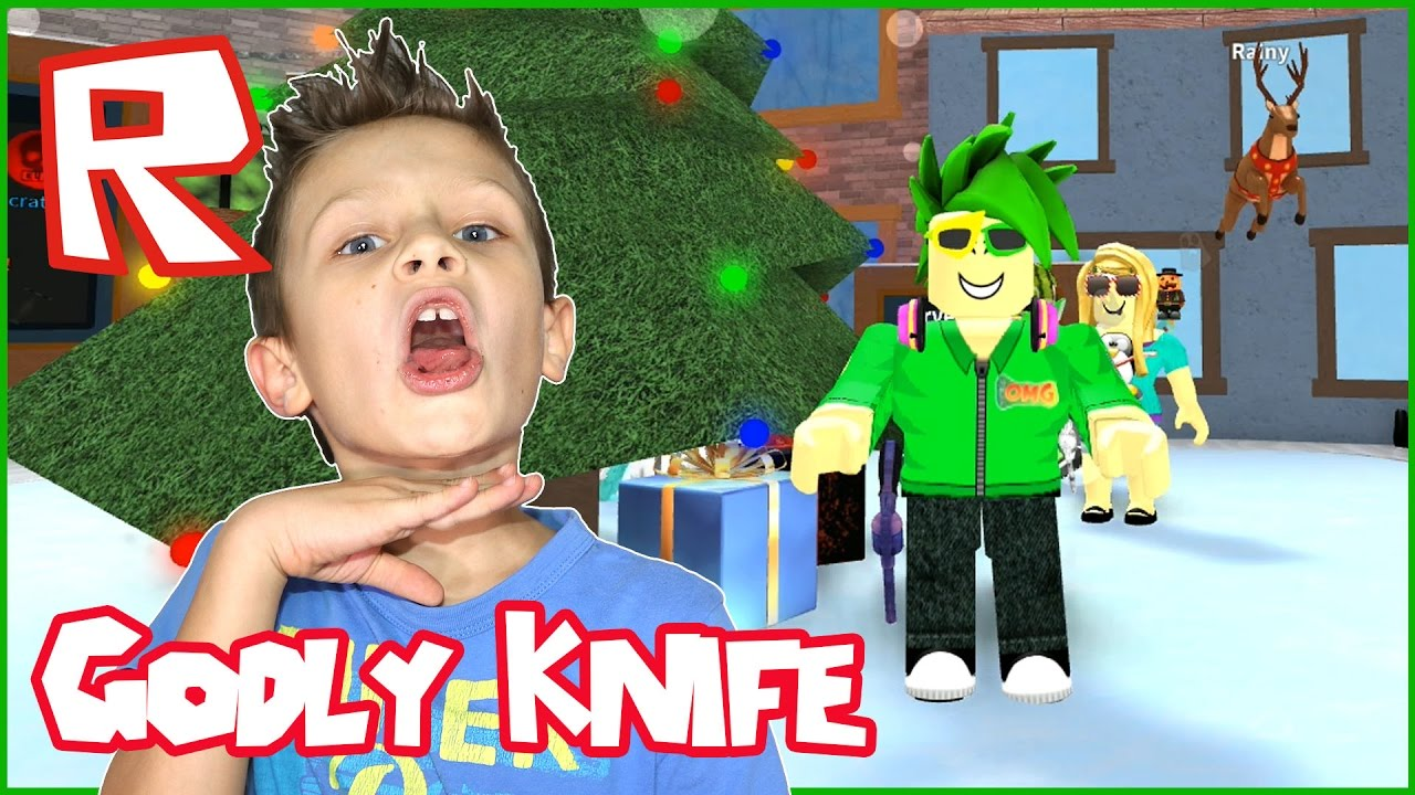 Seer Is My New Godly Knife Roblox Murder Mystery 2 Youtube