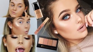 FULL FACE OF DRUGSTORE FIRST IMPRESSIONS! | Rachel Leary