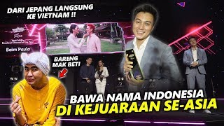 BAPAU BAWA NAMA INDONESIA KE PENGHARGAAN SE ASIA .. ALHAMDULILAH..TERIMA KASIH BOSQUE !