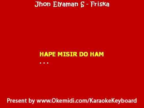 Karaoke Lagu Simalungun : Jhon Elyaman Saragih   Friska  Karaoke
