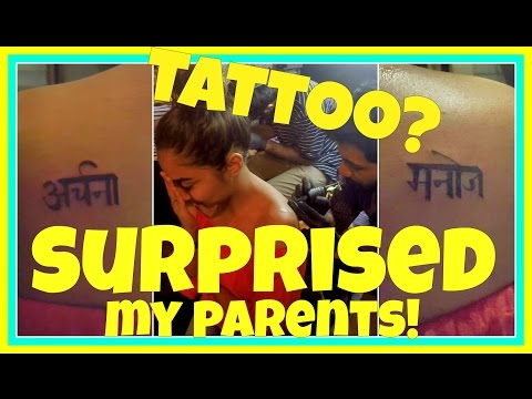 Getting a Tattoo , Being a Momo Ninja, Surprising My Parents & Much More | MostlyVlogs