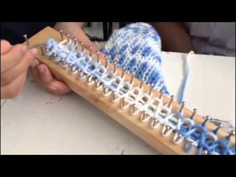 โครงงานคอมฯ ถักผ้าพันคอ บล็อกไม้