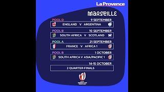 Coupe du Monde de Rugby France 2023 : découvrez le calendrier marseillais