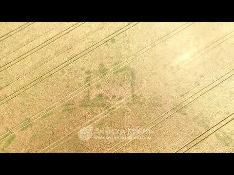 Giant Late Neolithic henge discovered near Newgrange - aerial footage