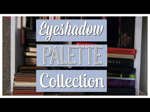 Eyeshadow palette collection