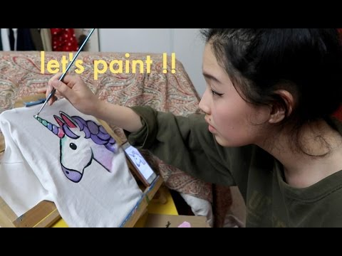 Painting With Nina But On A T-shirt