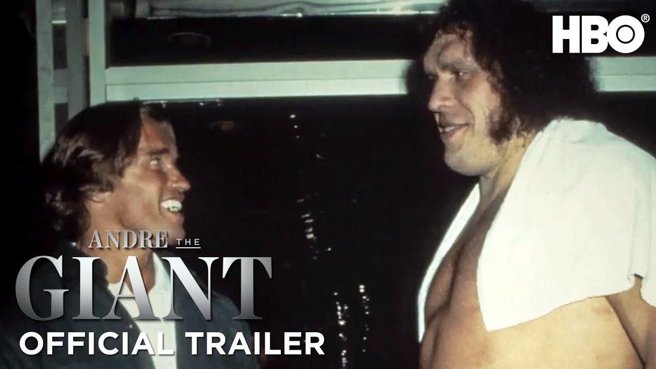 Andre The Giant Official Trailer #2 ft. Vince McMahon, Hulk Hogan, Arnold Schwarzenegger   HBO #1