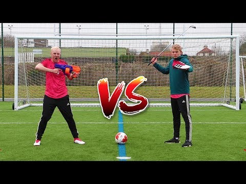 THE COLD BLOODED DISTRACTION FOOTBALL CHALLENGE | THEO VS CHARLIE #3