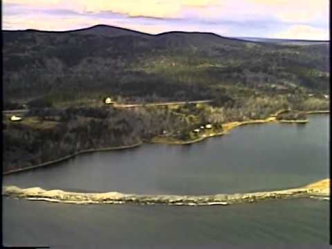 Aerial Video Surveys, Nova Scotia, Heffernan Point to Port Hastings, Strait of Canso