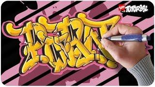 Graffiti Lernen - Porno Bubble Style