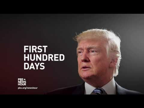 How Trump's first 100 days compares to past presidencies