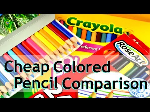 Cheap Colored Pencil Comparison - Review - Which is best?