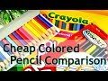 Cheap Colored Pencil Comparison - Which is best?