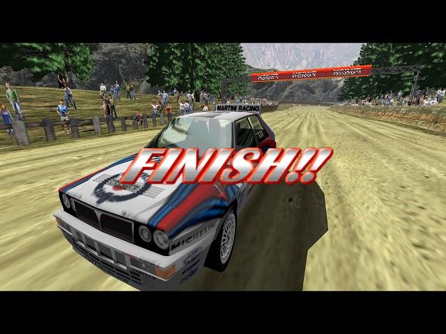 Sega Rally 2 - Championship Victory - SECRET Lancia Delta (4k 60fps)