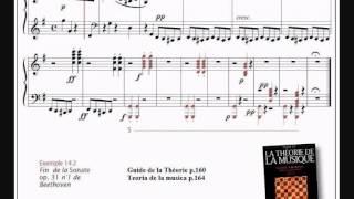 Ex.142, partition, Guide de la théorie de la musique, Abromont, Accord à l