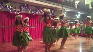 Most Beautiful Hula Girls Hawaii Live Christmas performance