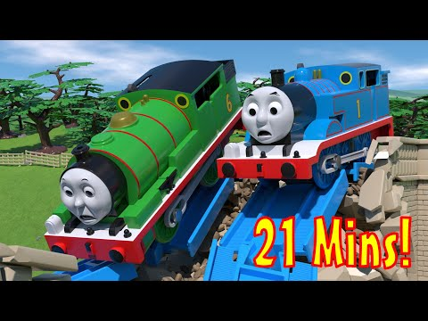 TOMICA Thomas and Friends: Animation CRASH Compilation! Cartoons for Kids