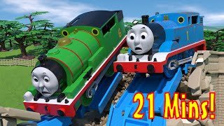 TOMICA Thomas and Friends Animation CRASH Compilation