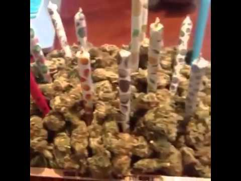 The Best Weed Birthday Cake YouTube