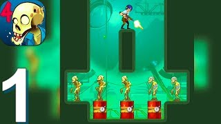 Stupid Zombies 4 - Gameplay Walkthrough Part 1 Levels 1-50 (Android, iOS Gameplay) screenshot 1