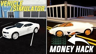 VEHICLE SIMULATOR MONEY EXPLOIT (FREE LAMBORGHINI) ROBLOX - Pain Exist