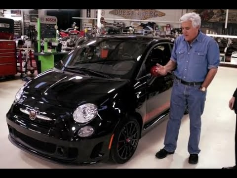 2012 fiat 500 abarth jay leno 39 s garage youtube for Garage fiat 500