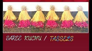 New Double Colour Saree Kuchu /Tassels Making