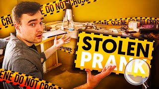 One of REEV's most viewed videos: STOLEN SETUP PRANK!!
