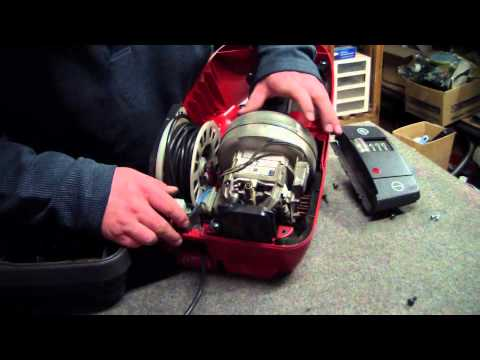 How to Access the Motor and Cord Retract on a Miele S326