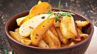 Картошка по-деревенски на сковороде. Самый вкусный рецепт