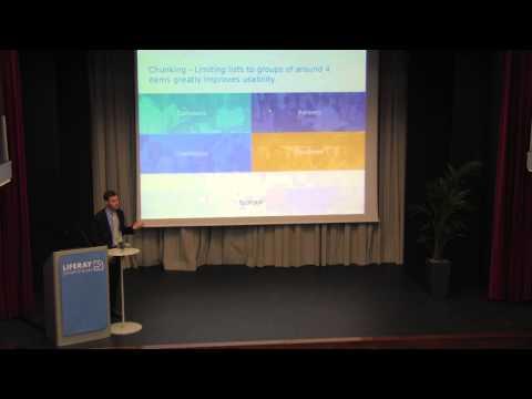 Liferay Symposium Italy 2014 - Liferay's UX Revolution - Ryan Schuhler