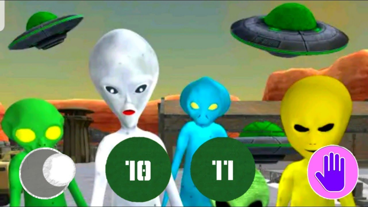 HELLO ALIEN NEIGHBOR Area 51 Escape - Level 10-11 Gameplay - Walkthrough [Android - iOS Game] Granny